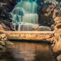 Zomaar een waterval