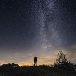 Liefde onder de sterren (melkweg)