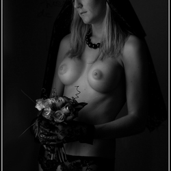 The funeral bride ...