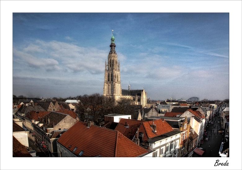 Skyline Breda - opname Breda