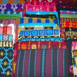 Geweven stoffen op Lombok