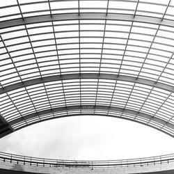 Dak van het Centraal Station Amsterdam