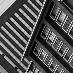 Berlijn.view from a window.