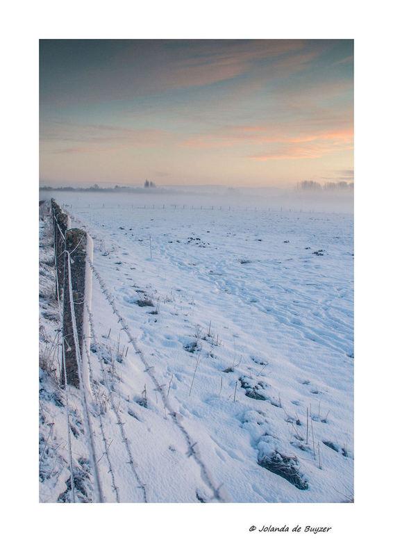 Silence in the morning..... - Genieten van de stilte op een mooie koude winterse ochtend..