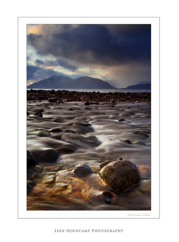Loch Linnhe - Tijdens onze reis naar het eiland Skye verbleven en weekend in Glencoe Schotland. Ondanks het slechte weer toch een paar mooie foto&#039