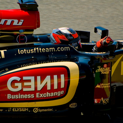 Formule 1 2013: Kimi aan het werk