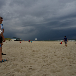 een dag op het strand