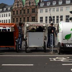 fietstaxi's Kopenhagen