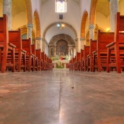 Igreja Matriz de Alvor (interieur kleur)