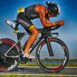 David van Oosten @ Challenge Almere Triathlon