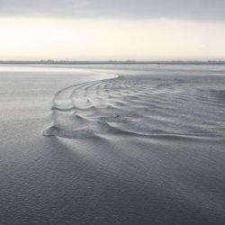 water als zand...