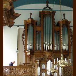 Orgel van kerk  Domies Toen.