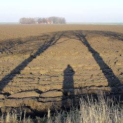 Vette klei polder-manie