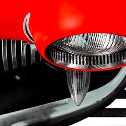 USA classic car detail