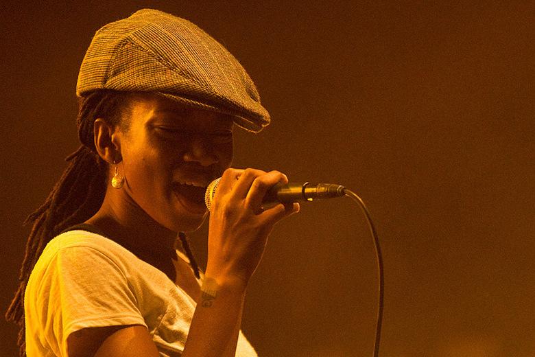 Sabrina Starke - Sabrina Starke tijdens de zomerparkfeesten 2009 in Venlo
