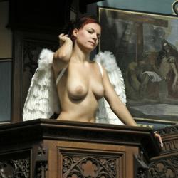 Angel in church 504