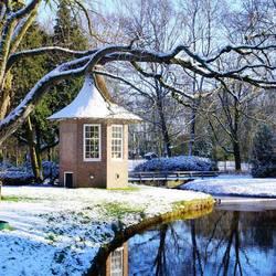 Winter in het Wilhelminapark Meppel 2016