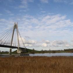 Ijsseldelta met de Eilandbrug in Kampen