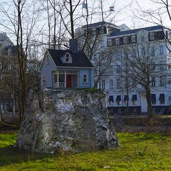 Het kleinste huis in Amsterdam