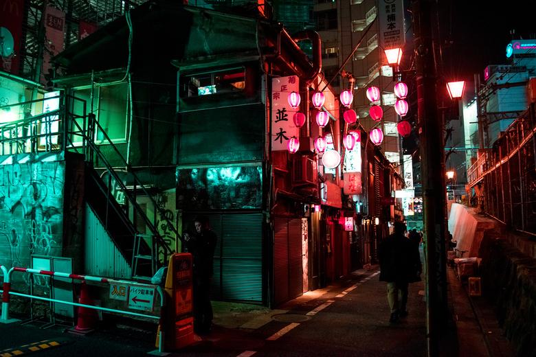 Shinjuku Alley's - Japan heeft vele magische steegjes!<br /> De straatverlichting neemt je mee in een heerlijke film achtige sfeer, de geur van heerl