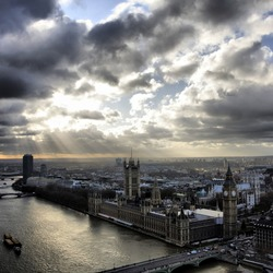 HDR Londen View