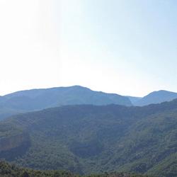 Spaanse Pyreneeen panorama