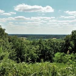 Uitzicht vanaf de Gildehauser muhle.