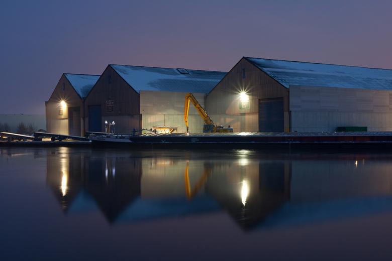 night light - Night Light, Haven Oss, Nederland
