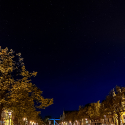 Starry night boven Alkmaar