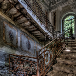 Italian beauty of decay