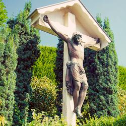 Kruisbeeld Bergstraat Sweikhuizen (Florabella action)
