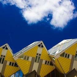 Kubuswoningen bij Blaak, Rotterdam