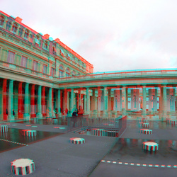 Palais-Royal Paris 3D GoPro