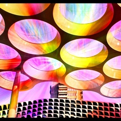 Disco light ...In a world of the future