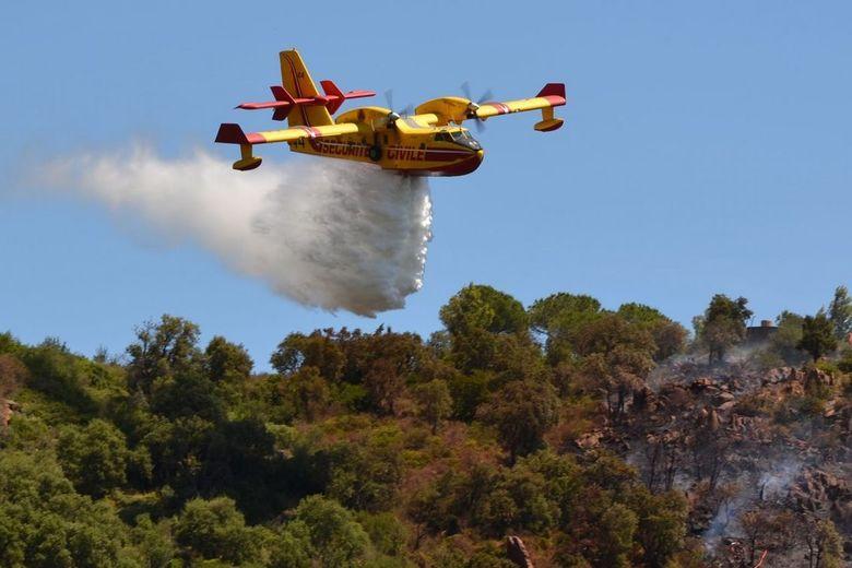Securite Civile - Blusvliegtuig in Le Lavandou