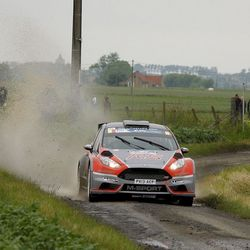 Neuville Thierry in Geko Ypres Rally 2013