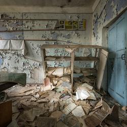Chernobyl builders settlement