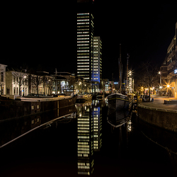 Leeuwarden by night