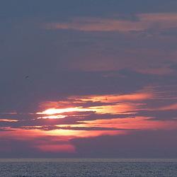zonsondergang Corfu