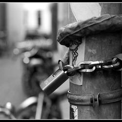 zet wel je fiets vast