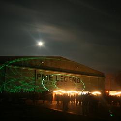 Lasershow Aviodrome Lelystad
