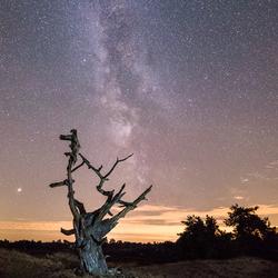 De Melkweg boven Aekingerzand