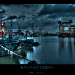 Haven in Rotterdam