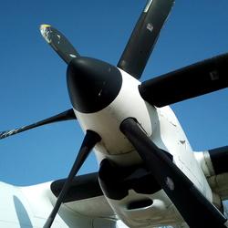 Fokker 50 prop