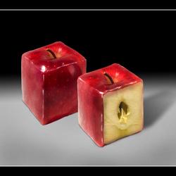 Square apples