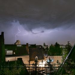Onweer boven Deventer