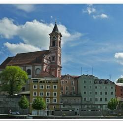 gezicht op Passau 2