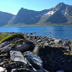 Kustlijn Noord Noorwegen