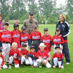 Teamfoto Hoofddorp Pioniers Little Stars