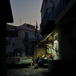 Night in Greece